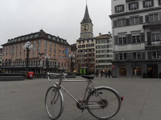 St. Peterskirche: Random bike