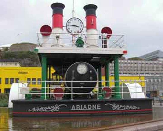 St. Helier, UK: Steam clock, St Helier, Jersey, UK