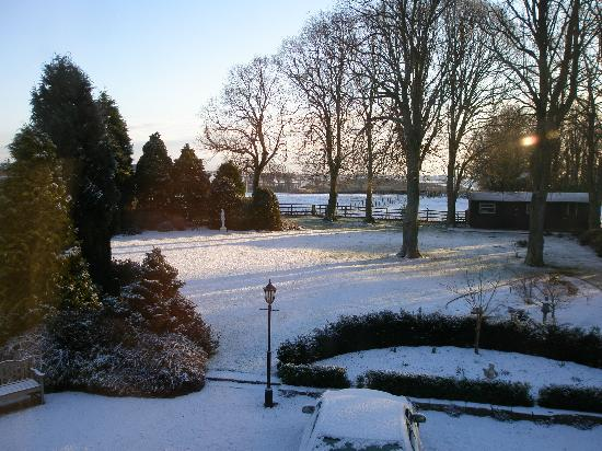 West Acre House: A view from the bedroom