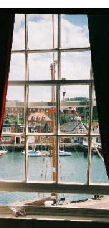 Aaran Guesthouse : view from the window over the Harbour