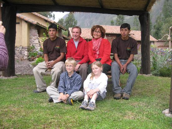Casa Colibri eco-Lodge: Our family and Hosts of Casa Colibri
