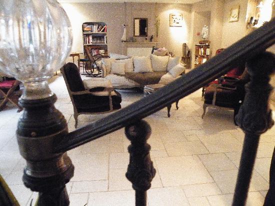 Le Salon Picture Of Les Jardins D 39 Alienor Le Chateau D