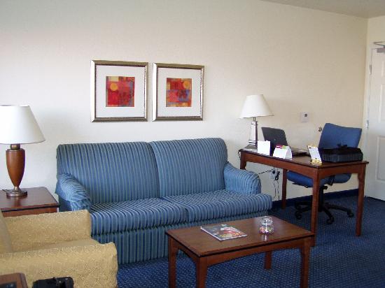 Residence Inn Tucson Williams Centre: Living Room Area