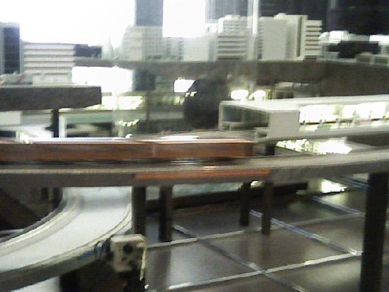 Subway Museum: メトロパノラマ。中からも見ることが出来ます。