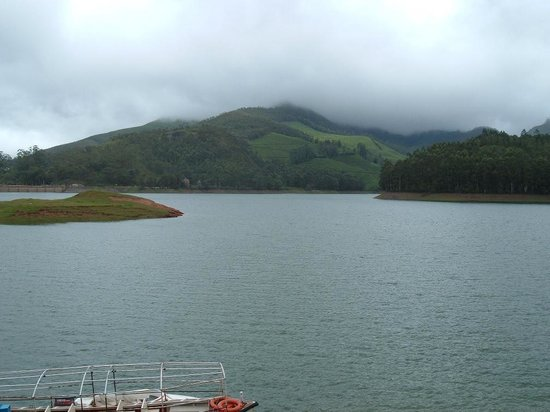 Munnar, Indien: boating facility