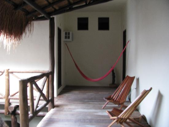 Lo Nuestro Petite Hotel: Balcony