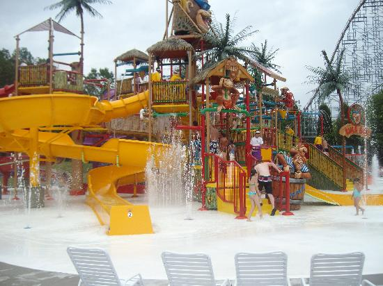 Santa Claus, IN: playground at waterpark