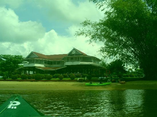 Гайяна: Main house at Baganara Island Resort