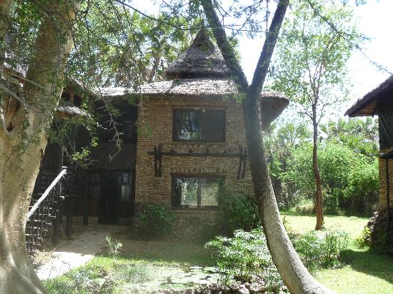 Sarova Shaba Game Lodge : our part of the 'cabin'