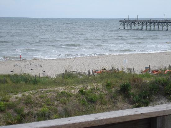 Holden Beach, NC: view from our unit