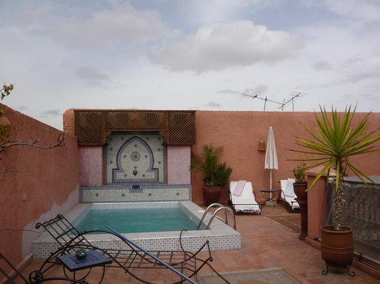 Riad le Clos des Arts : Rooftop pool