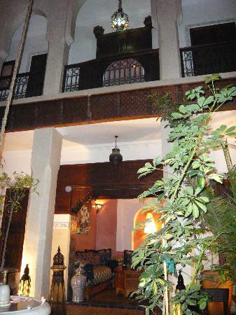 Riad le Clos des Arts: Courtyard