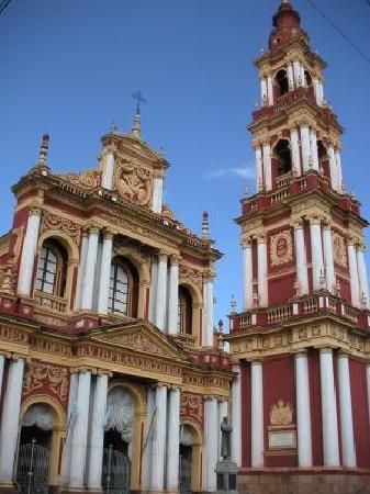 Salta, Argentine : La iglesia de san francisco