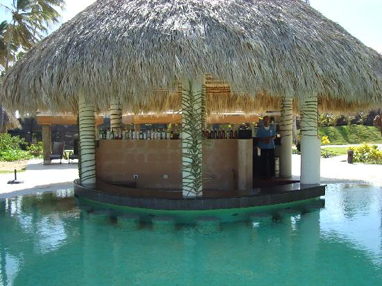 Now Larimar Punta Cana: Presidential Club (all adult) swim up bar
