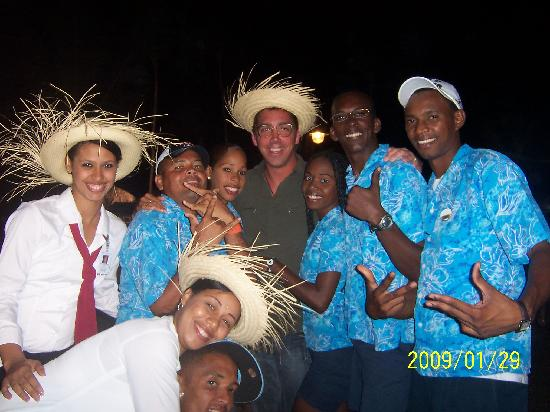 """Majestic Colonial Punta Cana: Party time """"Beach Party"""" avec staff"""