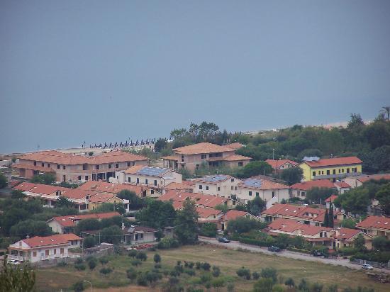 Ascea, إيطاليا: Dalle colline retrostanti
