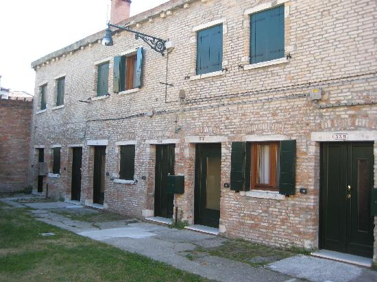 Alloggi Marinella: Outside of our private entrance