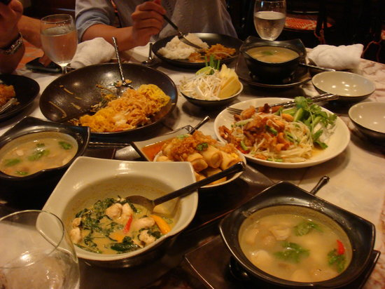 Spice Market: We ordered a wide variety of dishes to share.