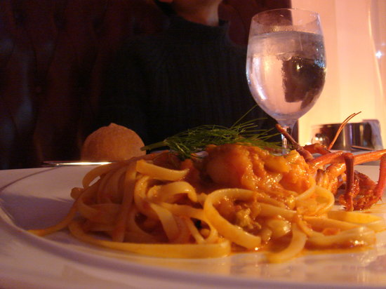 Dazzle: Lobster linguini