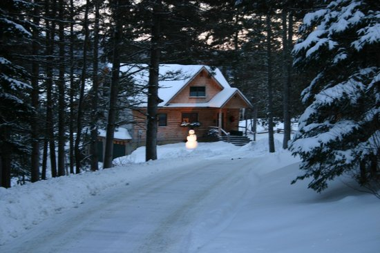 Hunter Cove Cabins on Rangeley Lake: We Miss this place in winter