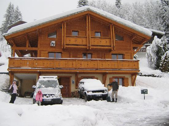 Chalet Spycat : A very snowy chalet