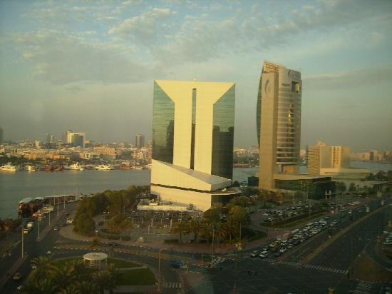 Hilton Dubai Creek : view from room