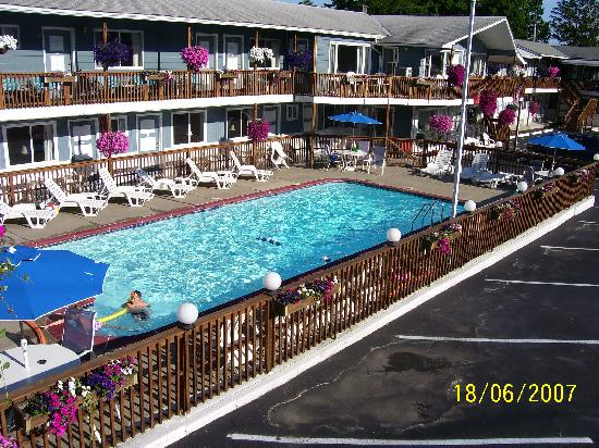 Lake Haven Motel: our favorite part of our stay