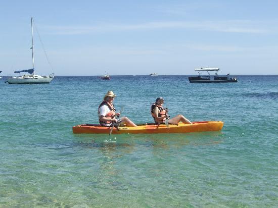 Medano Beach: Kayaking in Cabo