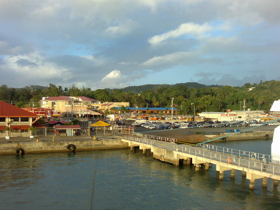 Port of Spain, Trynidad: Scarborough Port-Tobago.
