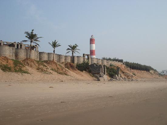 Gopalpur On Sea, India: view of light house in gopalpur
