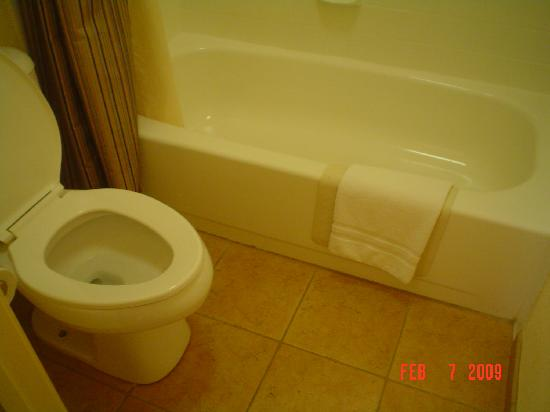 Best Western Danville Sycamore Inn: very very clean bathroom