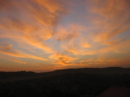 Dapoli, India: Colourful morning from the resort
