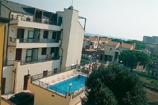Vecchio Faro : vista seconda piscina