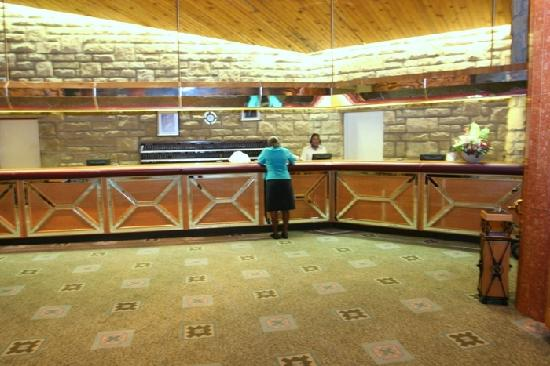 AVANI Lesotho Hotel & Casino : very efficient and convenient check in point