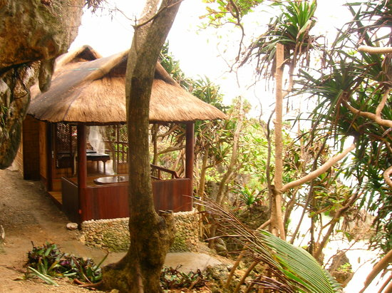 Lingganay Boracay Hotel Resort : Massage pavillon