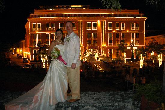 Charleston Cartagena Hotel Santa Teresa : the outside of hotel