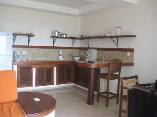 Kitchen at Villas Bakalar