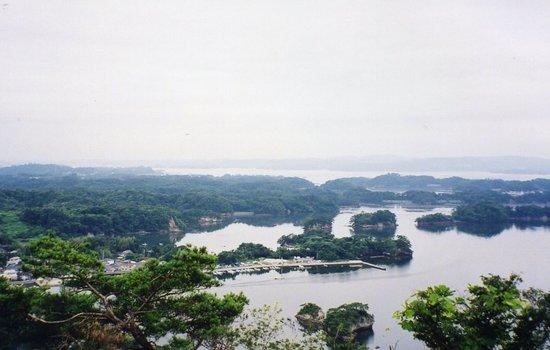 Odakamori Observatory: 大高森から松島湾を望む