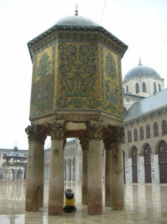 Δαμασκός, Συρία: Pati de la Gran Mezquita de los Omeyas