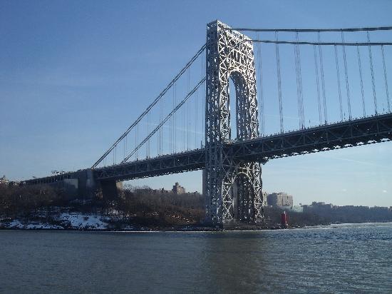 George Washington Bridge: New York Side