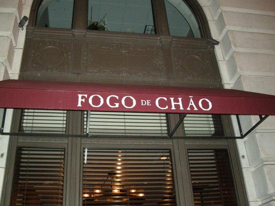 Fogo de Chao Brazilian Steakhouse: Restaurant Frontage