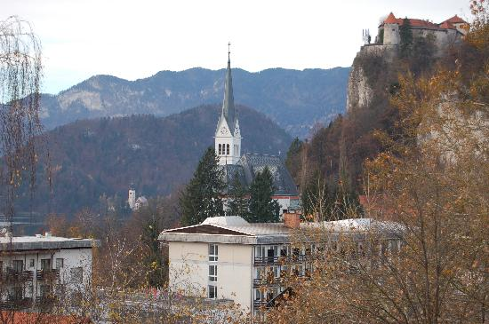 Hotel Astoria Bled: Another view from another front room, November