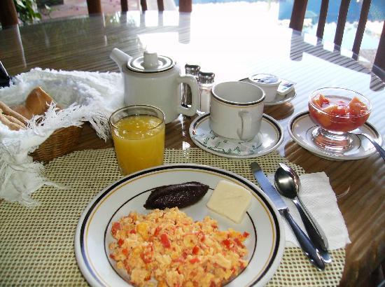 Hotel Casa Azul: a hearty breakfast
