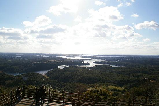 Yokoyama : 横山展望台からの眺め
