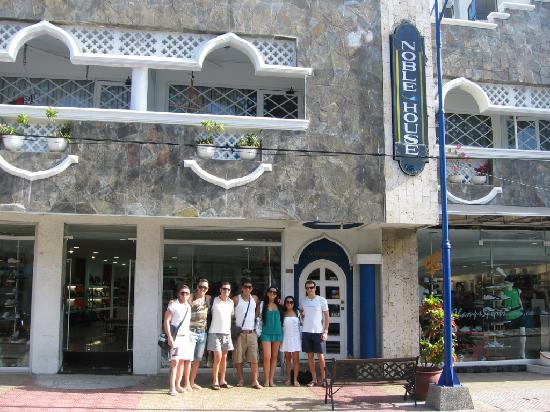 San Andres Noblehouse Hotel: la facciata dalla strada