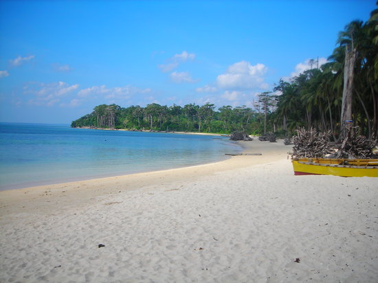 Port Blair, India: marine national park (wandoor)