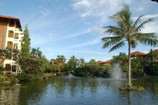 Ayodya Resort Bali: The lagoon