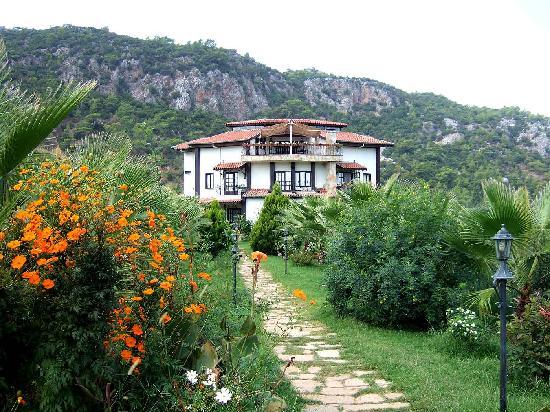 Anatolia Resort Hotel : Aussicht von Haupteingang