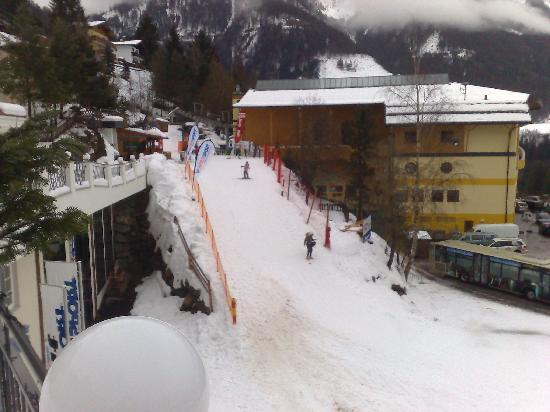 View From The Entrance Bild Von Alpina Family Spa Sporthotel