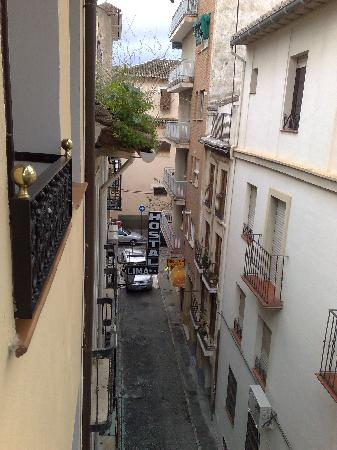Hostal Lima: The view from the balcony
